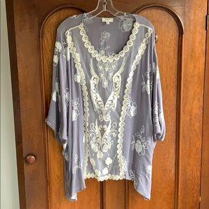Umgee Lace & Embroidery Tunic